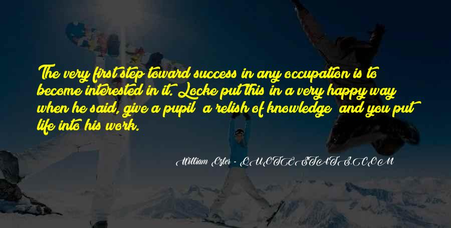 Way To Success In Life Quotes #857922
