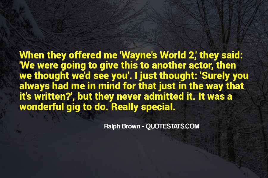 Way We Were Quotes #75925