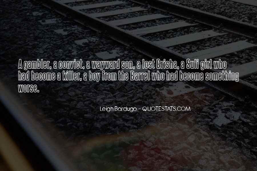 Wayward Son Quotes #1073359
