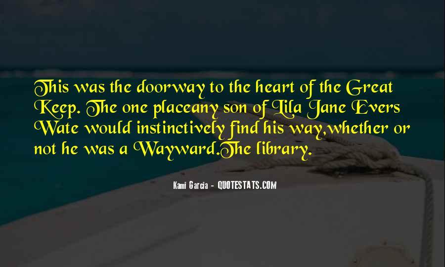 Wayward Son Quotes #59388