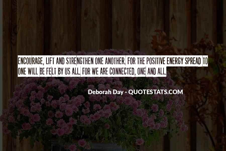 We All Are Connected Quotes #1328647