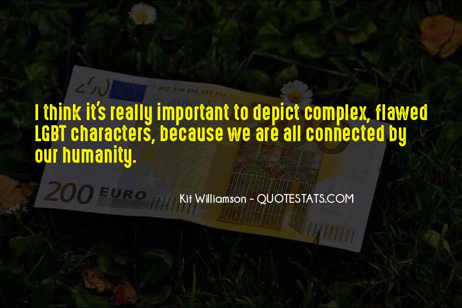 We All Are Connected Quotes #176002