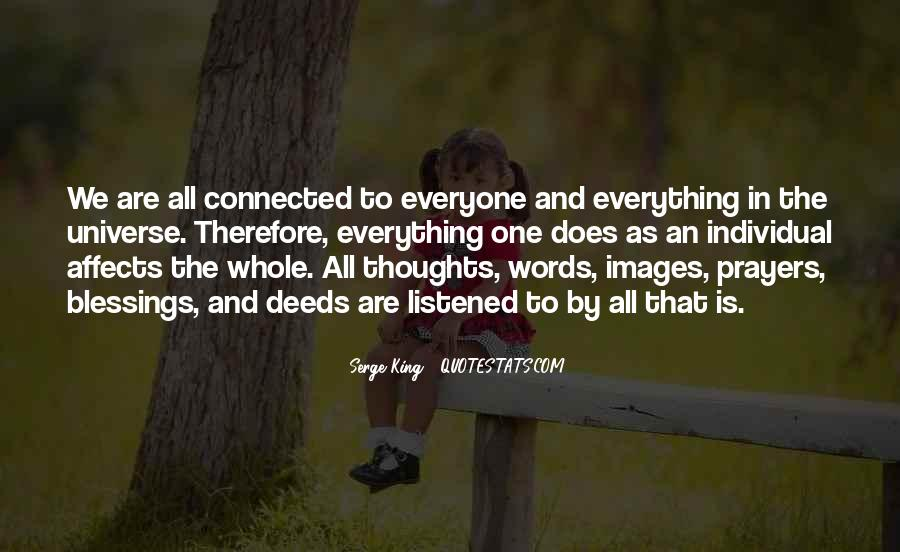 We All Are Connected Quotes #605399