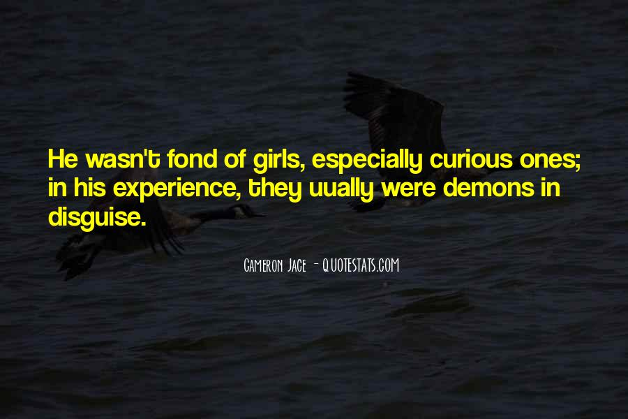 We All Have Demons Quotes #37923