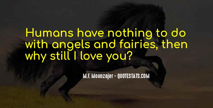 Quotes About Fairies And Love #1819156