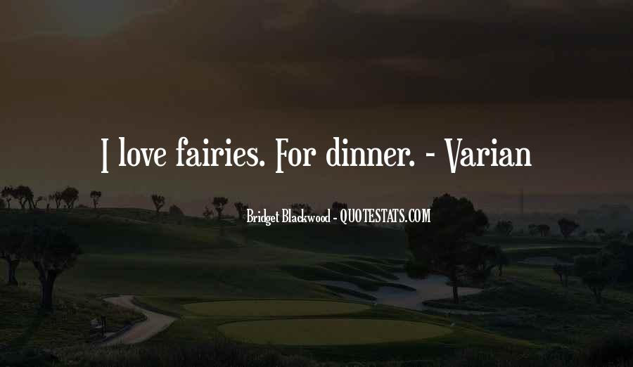 Quotes About Fairies And Love #557873