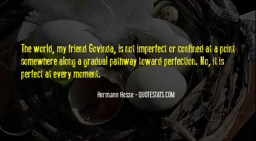 We Are All Imperfect Quotes #25282