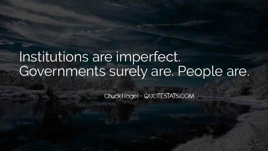 We Are All Imperfect Quotes #53501