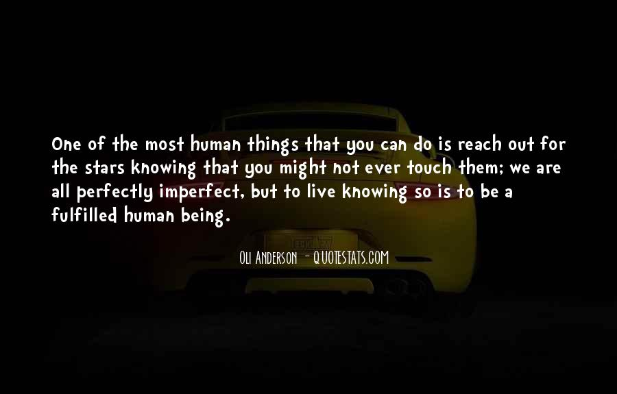 We Are All Imperfect Quotes #64097