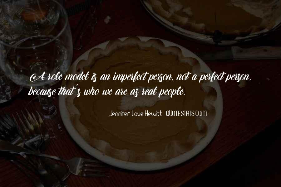 We Are All Imperfect Quotes #91229