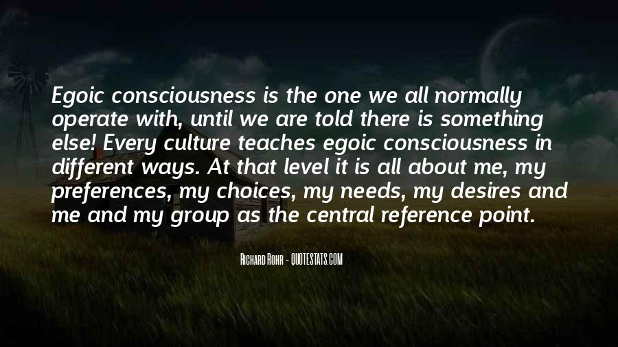We Are All One Consciousness Quotes #30977