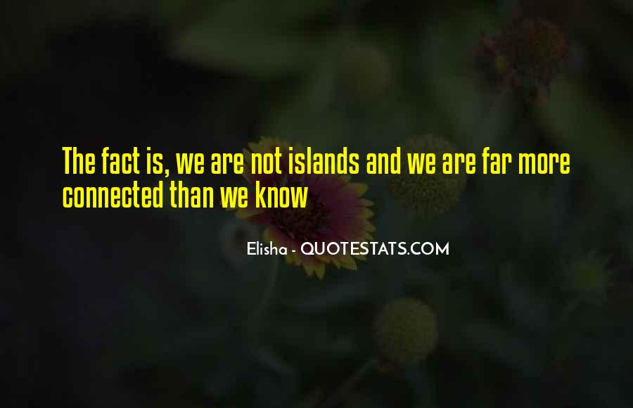 We Are Connected Quotes #170147