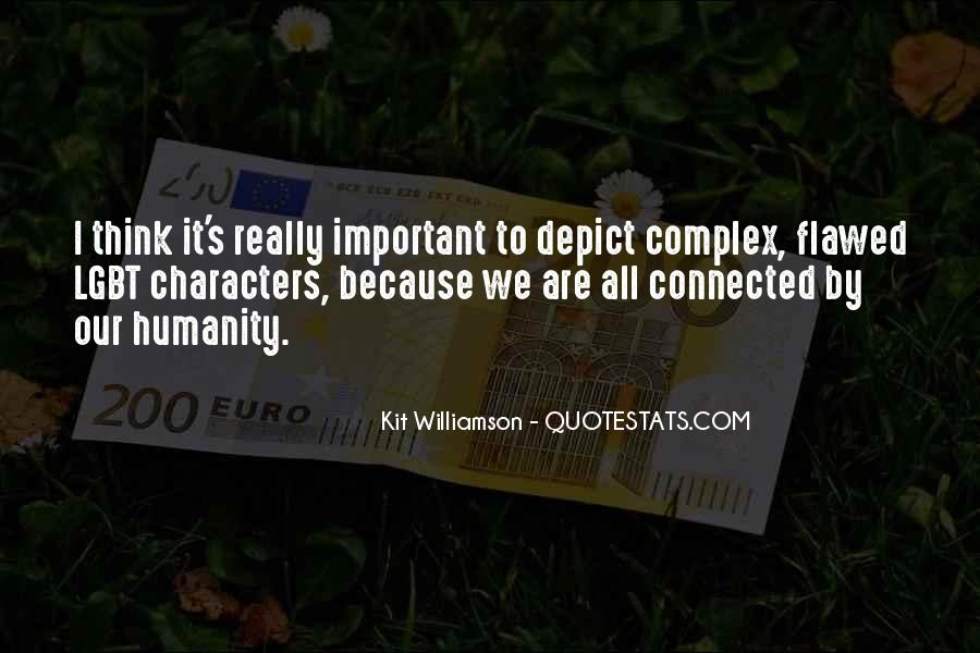 We Are Connected Quotes #176002