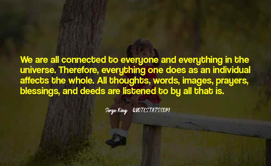 We Are Connected Quotes #605399