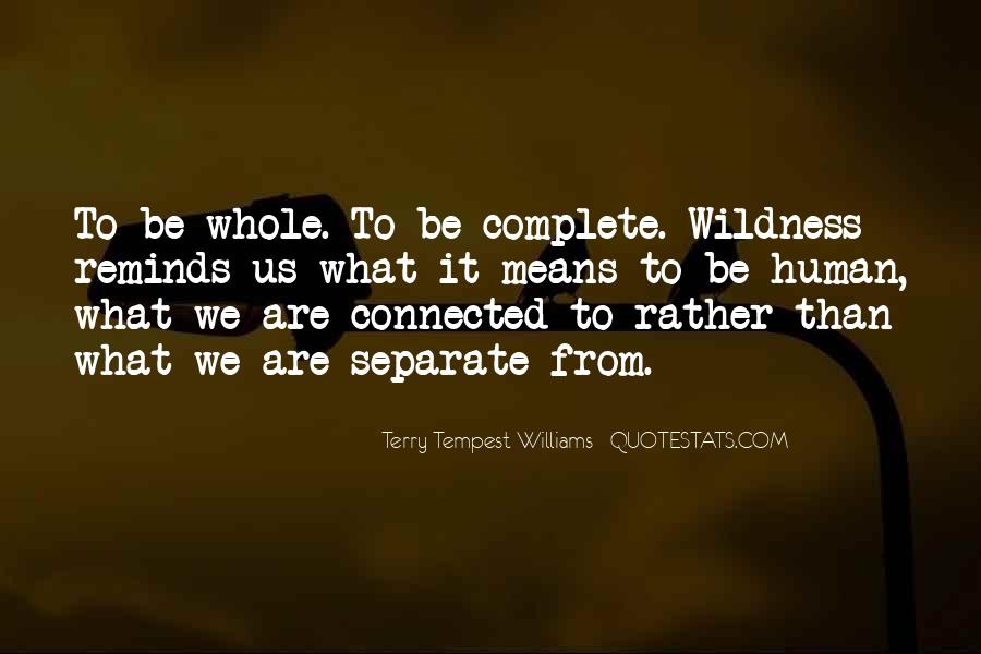We Are Connected Quotes #712376