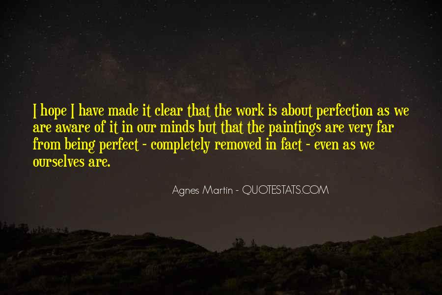 We Are Far From Perfect Quotes #463167