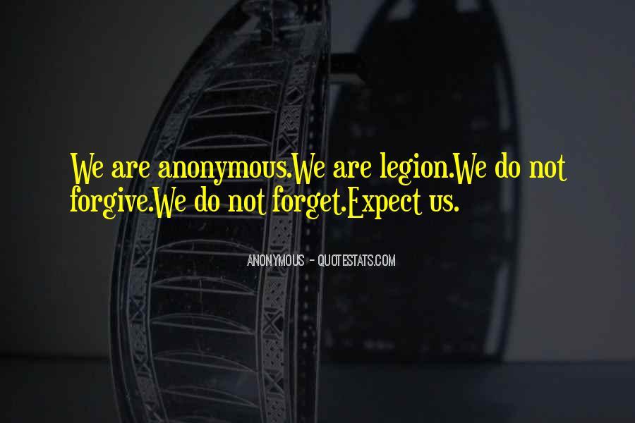 We Are Legion Quotes #1680694