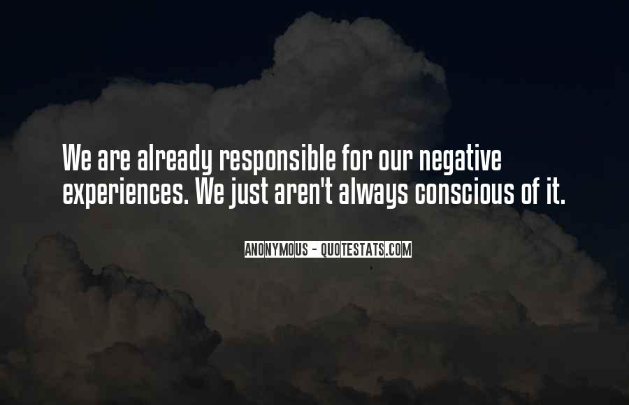 We Are Responsible For Quotes #163013