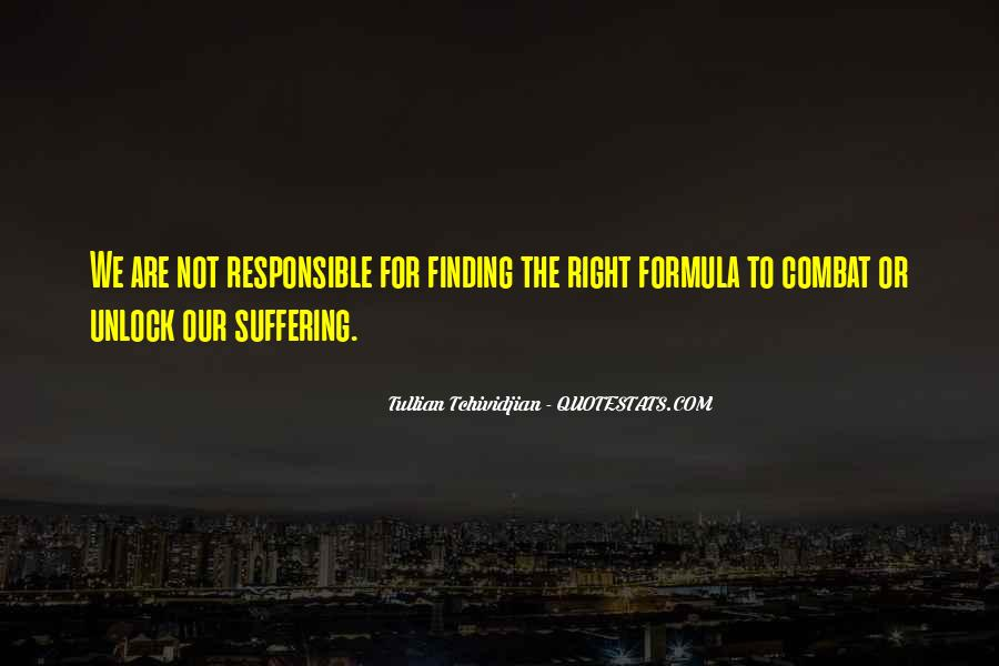 We Are Responsible For Quotes #416024