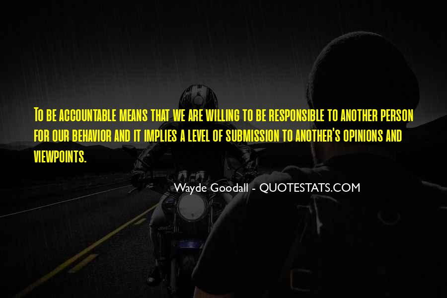 We Are Responsible For Quotes #609360