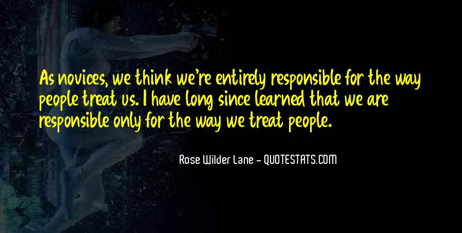 We Are Responsible For Quotes #611208