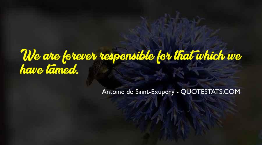 We Are Responsible For Quotes #814740