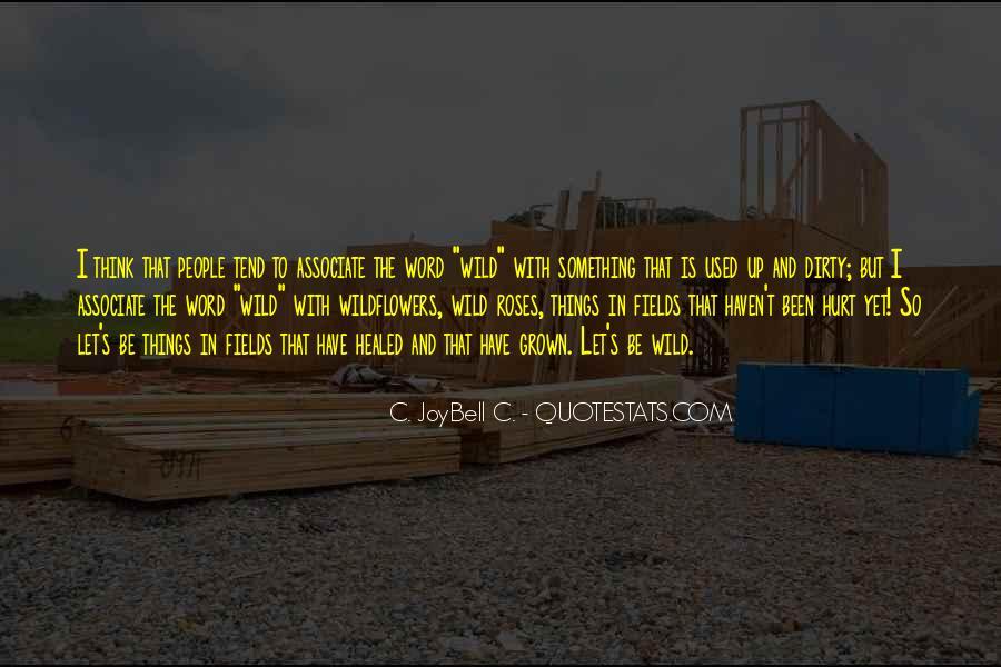 We Both Been Hurt Quotes #166369