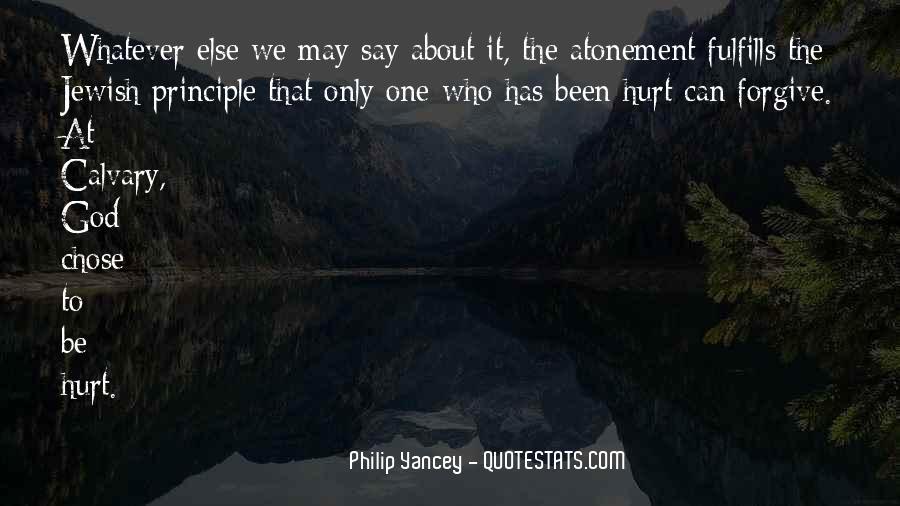We Both Been Hurt Quotes #43958