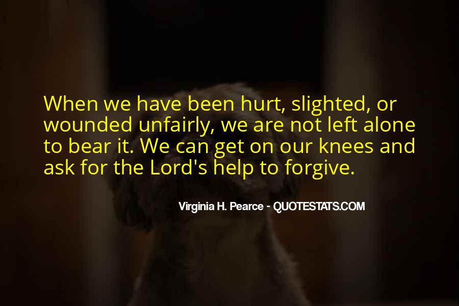 We Both Been Hurt Quotes #54881
