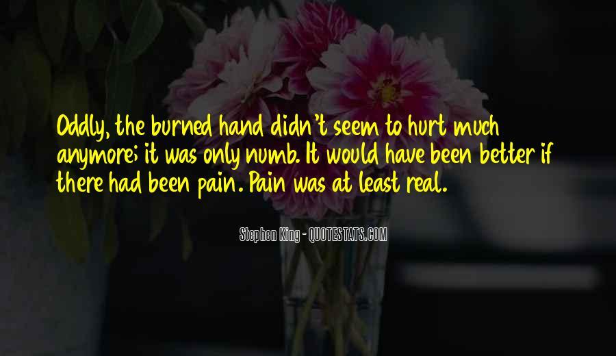 We Both Been Hurt Quotes #95921
