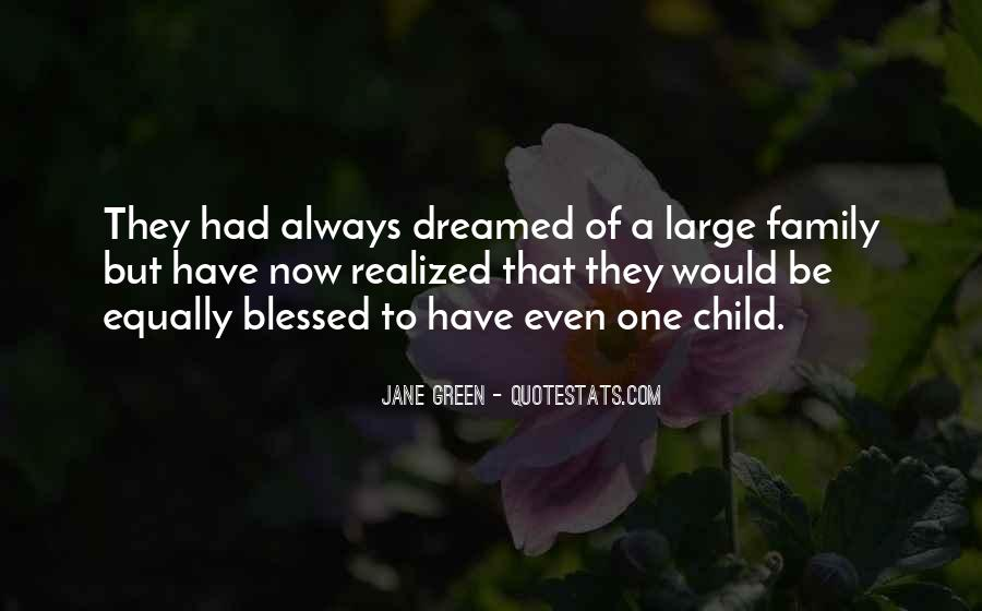 Quotes About Blessed Child #1142250