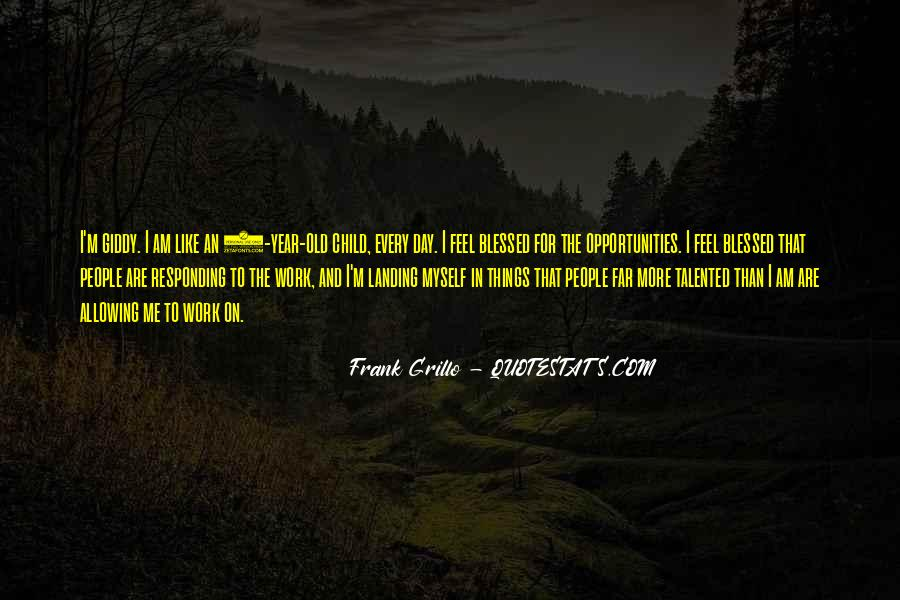 Quotes About Blessed Child #135177