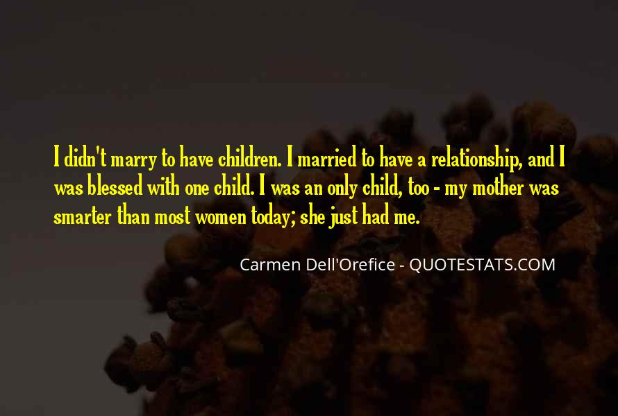 Quotes About Blessed Child #1711687