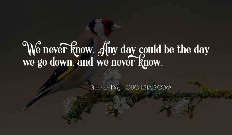 We Could Be King Quotes #1085347