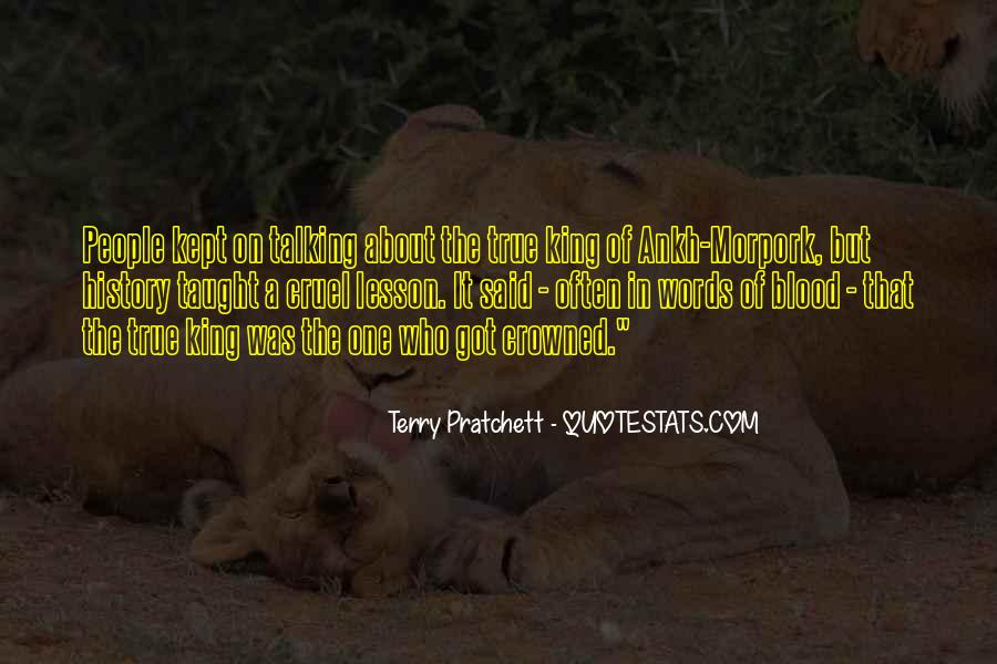 We Could Be King Quotes #5486