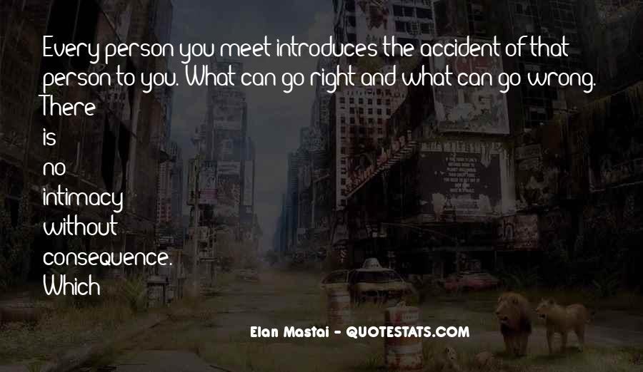 We Don Meet By Accident Quotes #1019567