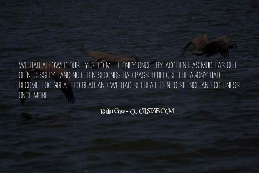 We Don Meet By Accident Quotes #1722519