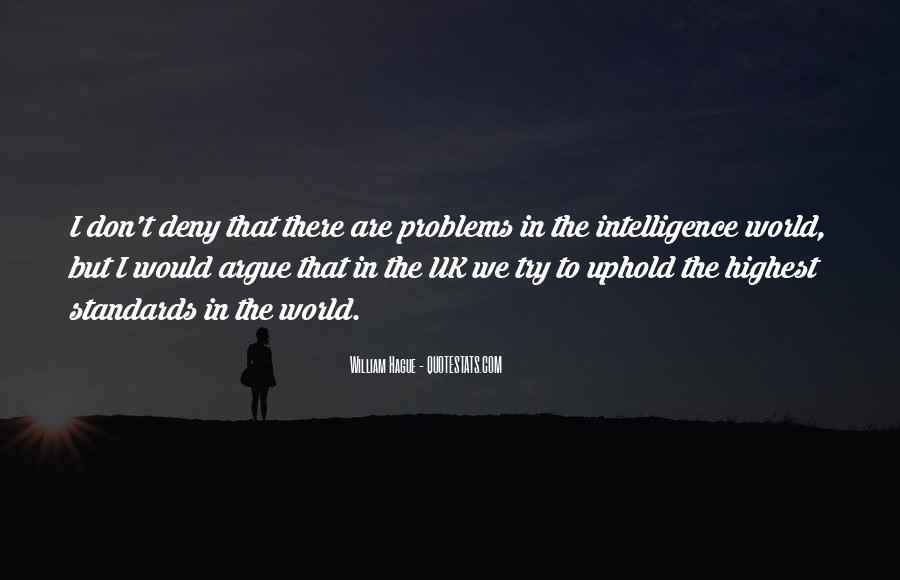 We Don't Argue Quotes #209192