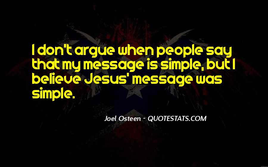 We Don't Argue Quotes #301711
