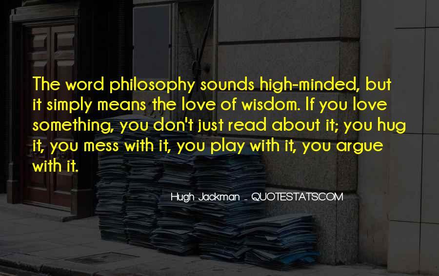 We Don't Argue Quotes #47583