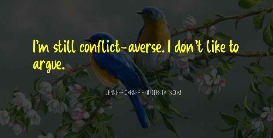 We Don't Argue Quotes #478621