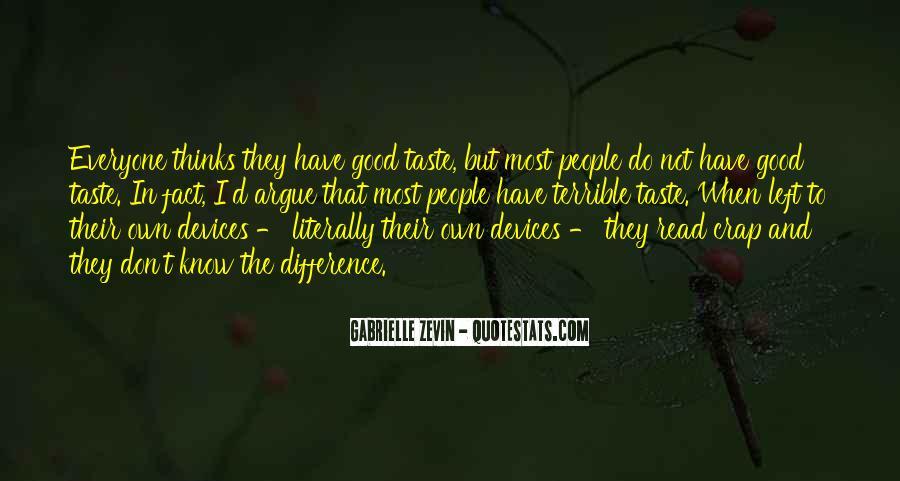We Don't Argue Quotes #549965