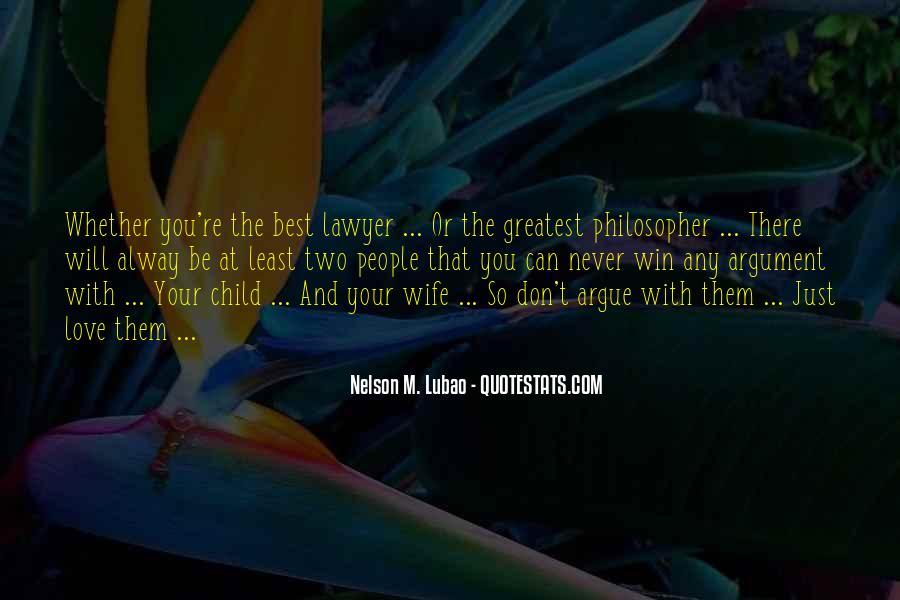 We Don't Argue Quotes #585671