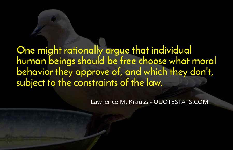 We Don't Argue Quotes #615165