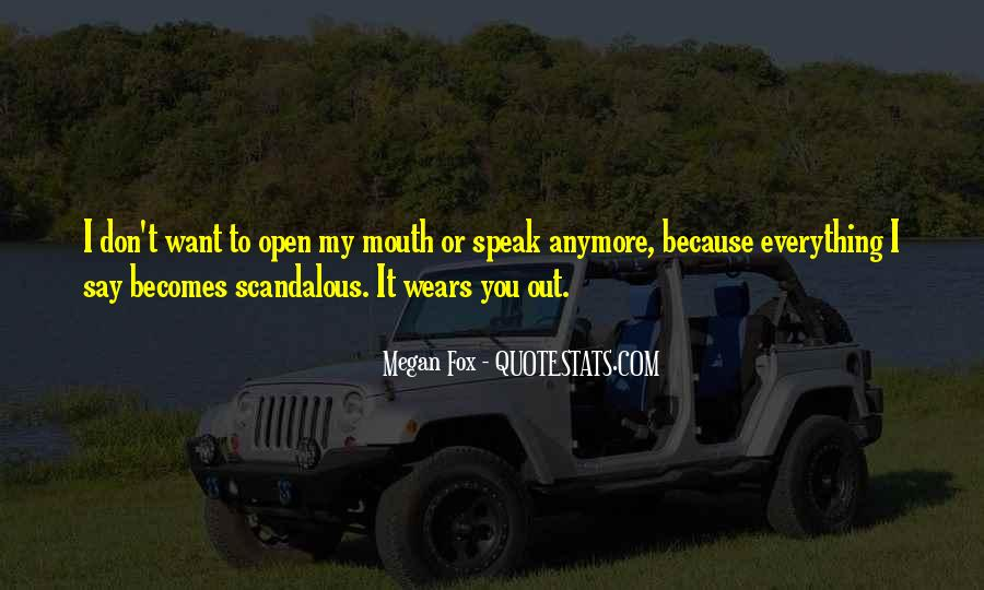 We Don't Speak Anymore Quotes #978848