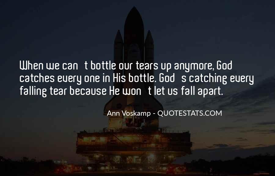 We Falling Apart Quotes #1758682