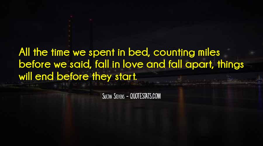 We Falling Apart Quotes #620367