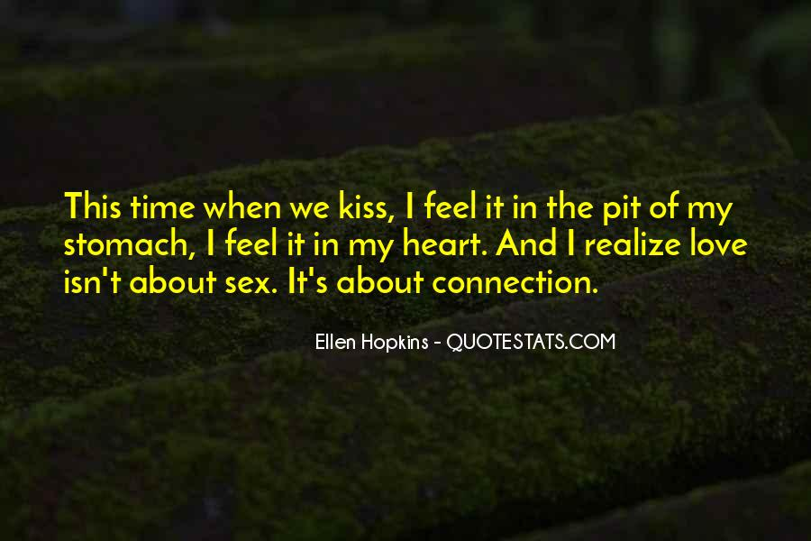 We Heart It Kiss Quotes #1421120