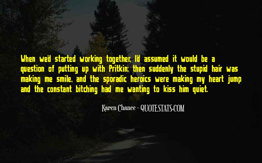 We Heart It Kiss Quotes #1711304
