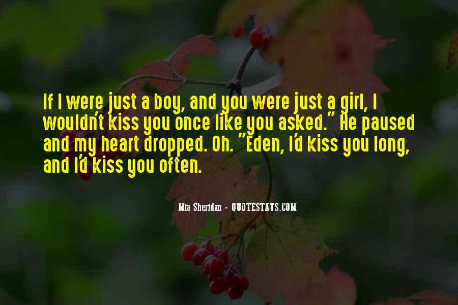 We Heart It Kiss Quotes #329534